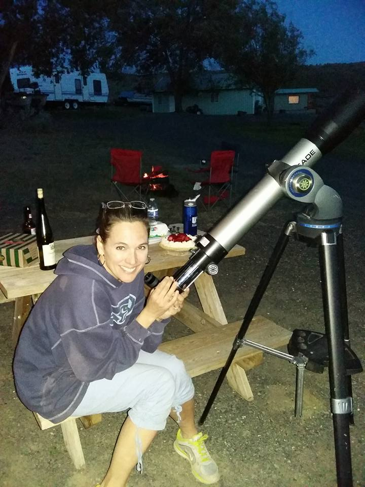 Cindy first scope