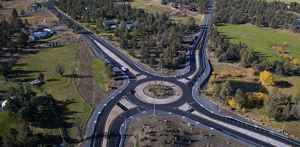 Powell Butte Highway Roundabout | Parametrix