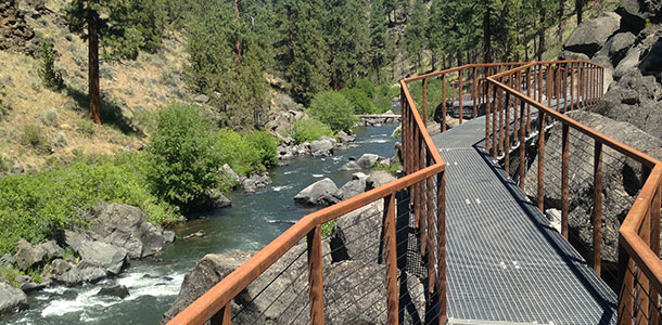 Deschutes River Trail Boardwalk | Parametrix