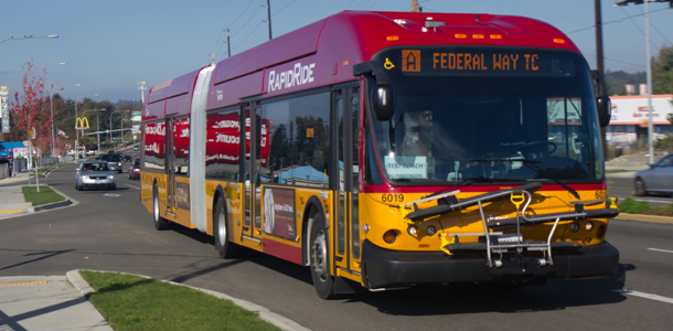 Parametrix Transit - A Line RapidRide, Tukwila to Federal Way, Washington