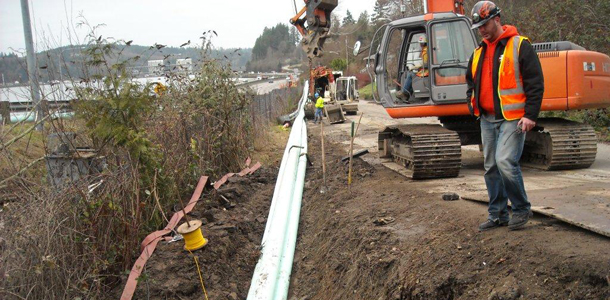 Parametrix Wastewater - Gorst Sewer Collection System, Bremerton, Washington